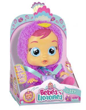 Cry Babies - קריי בייביז - בובת תינוק בוכה עם דמעות - ליזי
