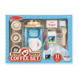 סט להכנת והגשת קפה מעץ - מליסה ודאג