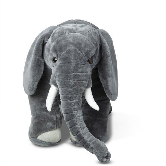 """בובת פיל גדולה בגובה של כ-47 ס""""מ - מליסה ודאג"""