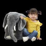 """40287בובת פיל גדולה בגובה של כ-47 ס""""מ – מליסה ודאג"""