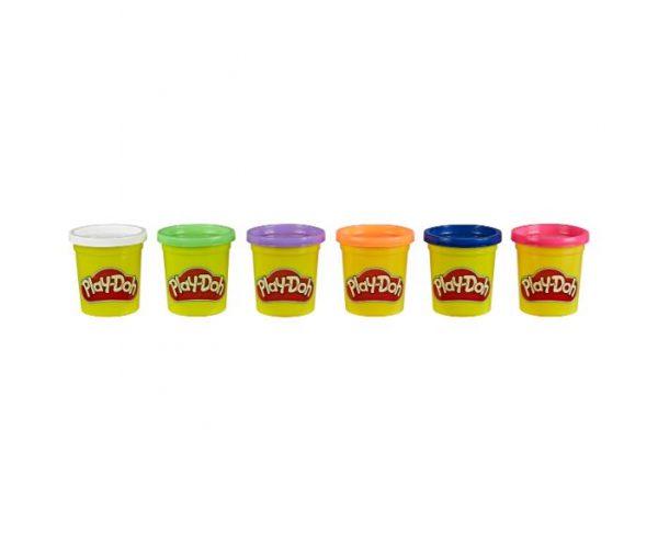 פליידו - מארז 6 צבעים