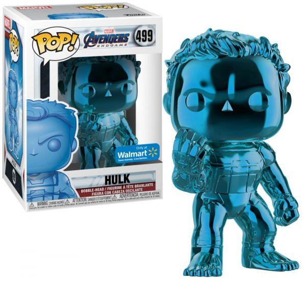 בובת פופ - הענק הירוק כחול כרום