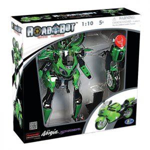 רובוטריק אופנוע קאוואסאקי עם אורות