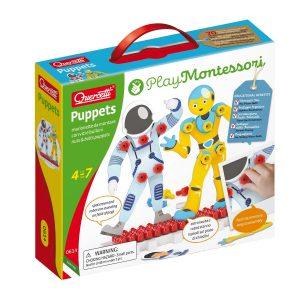 קווארצ'טי - ערכת פטריות רובוט ואסטרונאוט דגם 0614