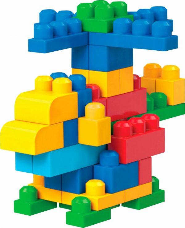 פישר פרייס - מגה בלוקס - תיק 80 חלקים - בנים