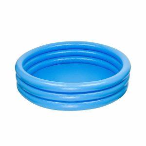 """אינטקס - בריכה עגולה מתנפחת בצבע כחול 114X25 ס""""מ"""