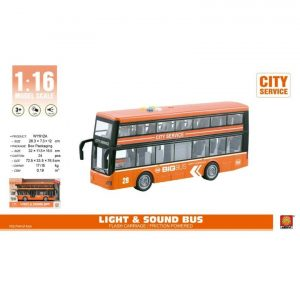 אוטובוס תיירים קומות כתום - MK