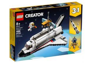 לגו קריאטור - הרפתקה במעבורת החלל 31117