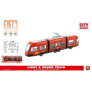 רכבת חשמלית עירונית אדומה - MK