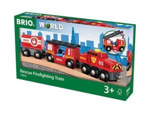 בריו רכבת כיבוי אש BRIO 33844
