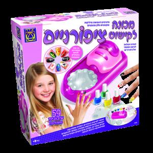 מכונה לקישוט ציפורניים - משחקי יצירה