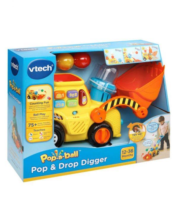 Vtech - דחפור הכדורים