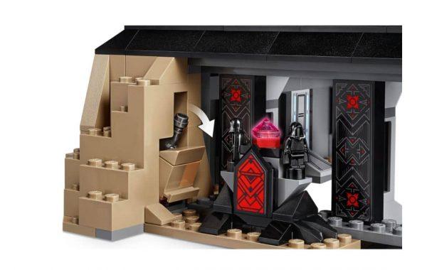 לגו מלחמת הכוכבים - הטירה של דארת ויידר 75251