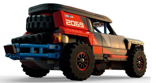 לגו ספיד - מירוץ מכוניות פורד 76905