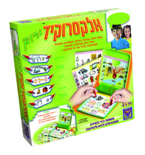 אלקטרוקיד ירוק - משחקי יצירה