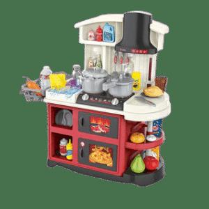 מטבח ענק מאובזר + כלים - 52 חלקים
