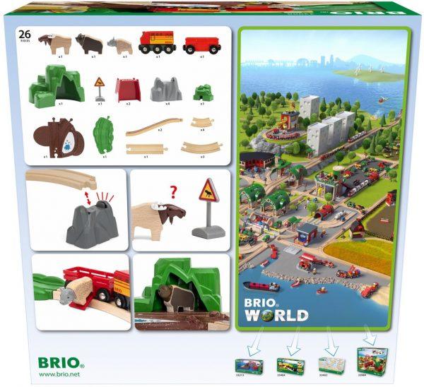 בריו רכבת חיות נורדיות BRIO 33988