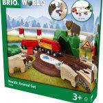 41299בריו רכבת חיות נורדיות BRIO 33988