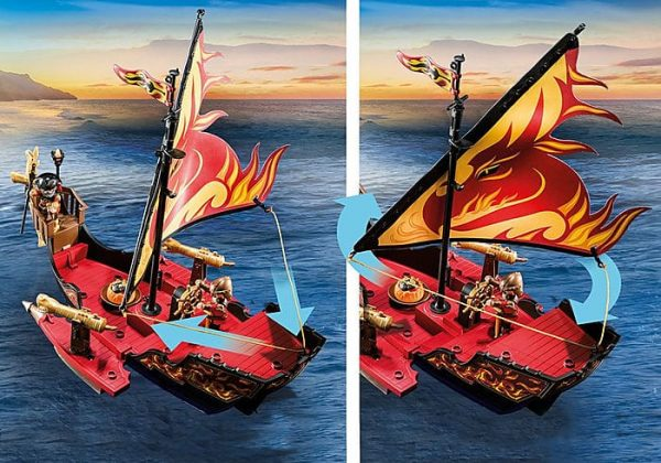 פליימוביל - ספינת האש של שודדי בורנהאם 70641