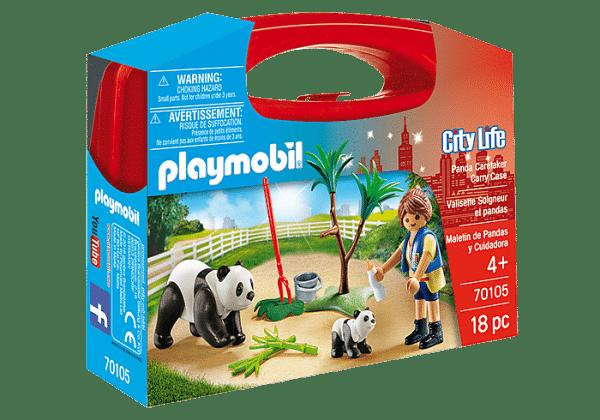 פליימוביל - מזוודת דובי פנדה 70105