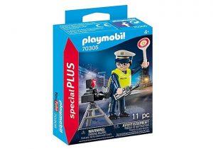 פליימוביל - שוטרת עם מכמונת מהירות 70305