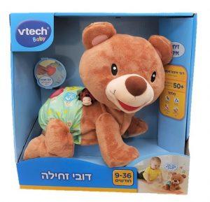 Vtech - דובי זוחל ושר