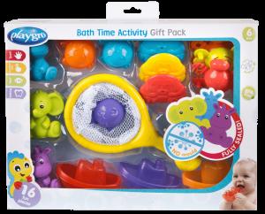 פלייגרו - אריזת צעצועים לאמבטיה