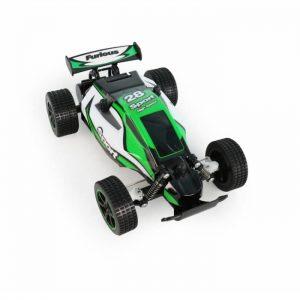 רכב מירוץ ירוק 1/20 על שלט עם מטען USB