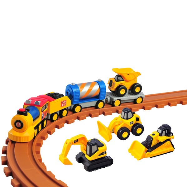 CAT - רכבת אקספרס לפעוטות עם אורות וקולות