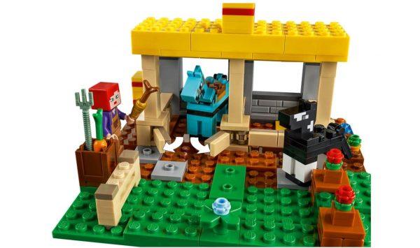 לגו מיינקראפט - חוות סוסים 21171