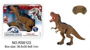 דינוזאור על שלט רחוק בצבעים לבחירה