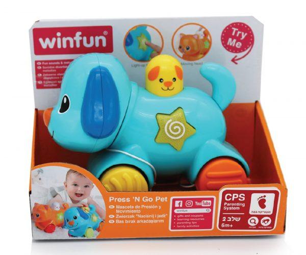 WinFun - כלב חבר על גלגלים - לחץ וסע