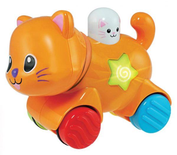 WinFun - חתול חבר על גלגלים - לחץ וסע