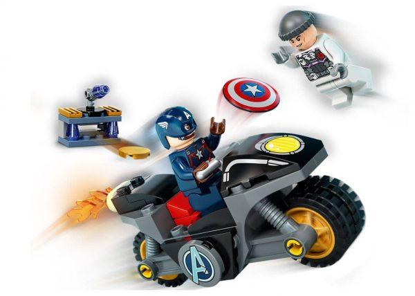לגו מרוול - העימות של קפטן אמריקה והיידרה 76189