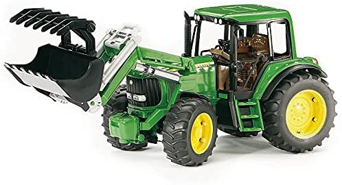 טרקטור חקלאי ג'ון דיר 6920 + כף - ברודר 02052