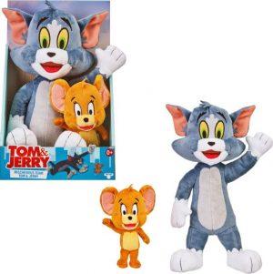 טום וג'רי - מארז 2 בובות פרווה