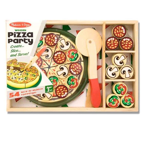 ערכה להכנת פיצה מעץ - מליסה ודאג