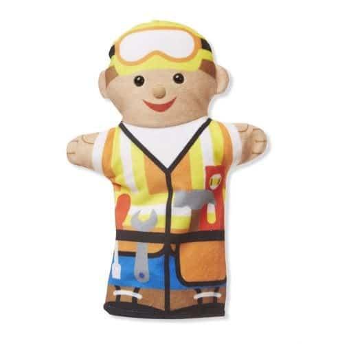 סט בובות יד - בעלי מקצוע - מליסה ודאג