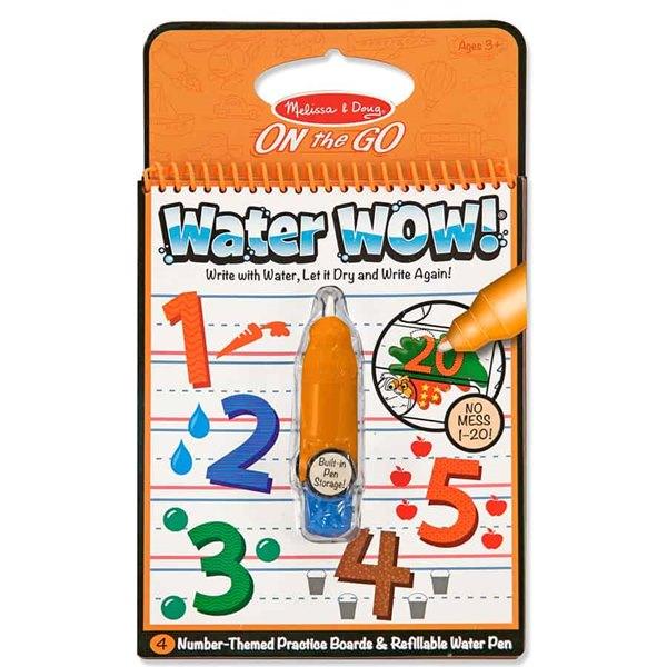 חוברת טוש המים מספרים - מליסה ודאג