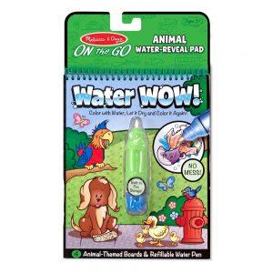 חוברת טוש המים חיות - מליסה ודאג