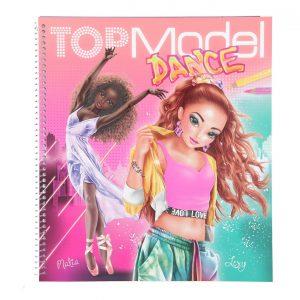 טופ מודל - חוברת עיצוב אופנה - ריקוד