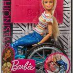 45727ברבי עם כיסא גלגלים GGL22
