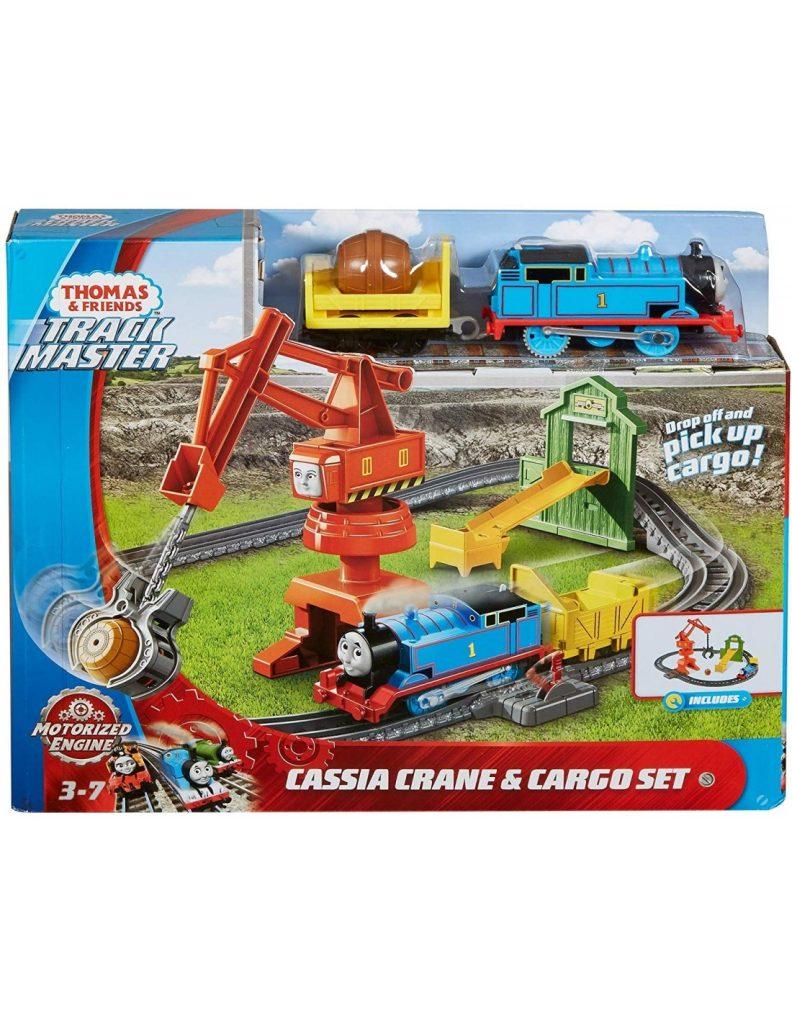 תומס הקטר - מסלול עם מנוף ורכבת משא