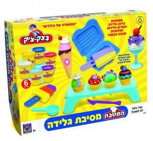 בצ'ק בצ'יק - מסיבת גלידה - משחקי יצירה