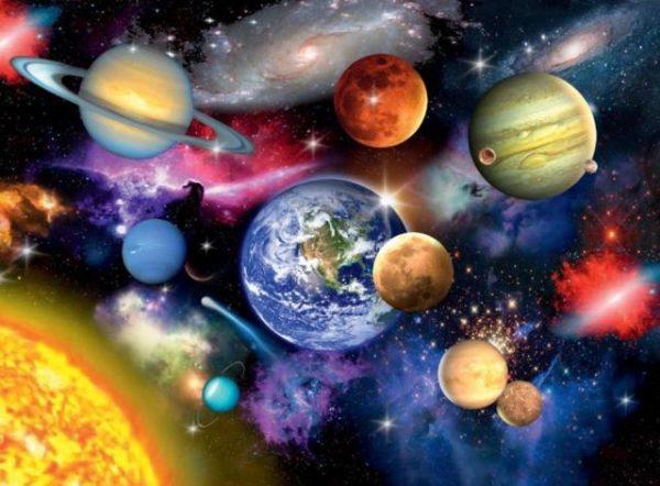פאזל 300 חלקים - מערכת הכוכבים