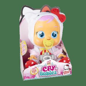 Cry Babies - קריי בייביז בובת תינוק בוכה עם דמעות אמיתיות - הלו קיטי