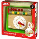 49063בריו חשבוניה שעון מעץ 30447 BRIO