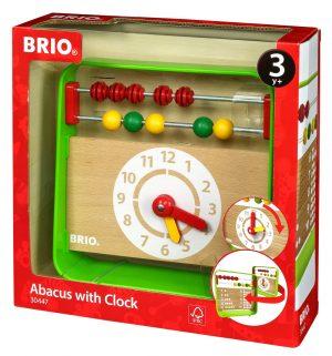 בריו חשבוניה שעון מעץ 30447 BRIO