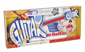 סופרסוניק - גיטרה מעוצבת שחורה