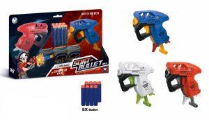 סופט גאן - זוג אקדחים עם 4 חיצים